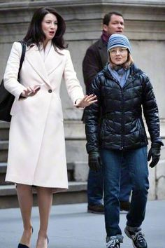 Untagged Pics of Caitriona Balfe on the Set of Money Monster | Outlander Online