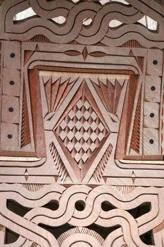 Sculpture sur bois - Guyane - Art Saramaca