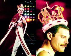 The Queen!!! Freddie Mercury... he oozed sex!