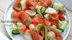Ellouisa: Aardappelsalade met zalm, komkommer en dille - Ikea foodchallenge