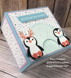 Little Christmas, Christmas Gifts, Holiday, Hostess Snowballs, Penguin Party, Classroom Treats, Treat Holder, Cute Penguins, Something Beautiful