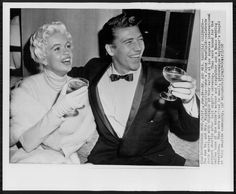 1957 RARE Original Photo JAYNE MANSFIELD MICKEY HARGITAY ...
