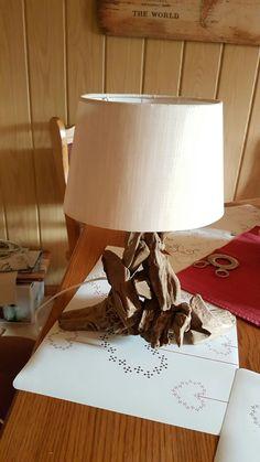 Treibholzlampe/ Driftwood klein