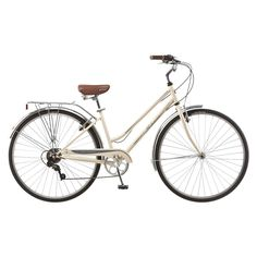 """*Free assembly for all store and order pick up purchases for bikes 20"""" and up!<br><br>Like all Schwinn bikes the Gateway has limited lifetime warranty for as long as you own the bike. The Gateway is a bike of many talents. During the week it is a practical choice with 7 speeds, a rear carrier, alloy rims and brakes. Yet on weekends it has style and comfort with a spring seat, swept back handle bars, stylish paint and handsome fenders. Take a ride out for breakfast with f..."""