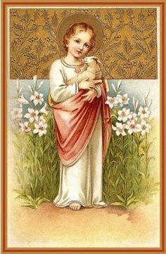 JESUS, Buen Pastor, y su ovejita, espejo de tu alma.