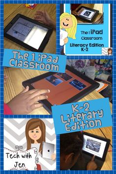 Full of great ideas for literacy of how to use 1 iPad in the classroom.$