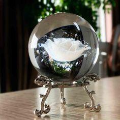 Swarovski Crystal Figurines, Magical Jewelry, Cute Room Decor, Glass Figurines, Flower Plates, Fantasy Jewelry, Glass Ball, Crystal Ball, Paper Weights