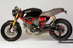 DUCATI GT 1000 reconvertida a CAFE RACER