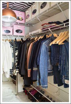 Walk-in Closet Makeover - cuckoo4design