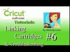 Linking Cartridge & Customer Service call Cricut Craft Room Tutorial #6