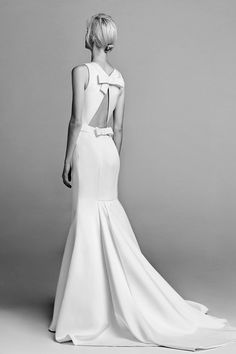 Open Back Mermaid Gown from the debut Viktor & Rolf wedding dresses collection, Fall 2017 - 2017 Bridal, Bridal Gowns, Wedding Gowns, Bridal Collection, Dress Collection, Victor And Rolf, Perfect Bride, Wedding Hair Inspiration, Viktor Rolf