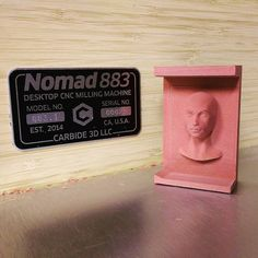 The Nomad makes faces (and skulls.) This is the #classic #3D #test #file for #meshcam also known as the #dollhead or #barbie head and is great for showing off the resolution of a CNC machine. Every Nomad is bundled with MESHcam because #making #time to #make #stuff is hard enough.  #nomad883 #carbide3d #precision #production #cnc #instamachinist #toolsofthetrade #TOOLPORN #3dmodel #3dprinting #gcode #prototype #figure #model #actionfigures #custommade #art #modelmaking #renshape by…