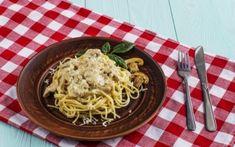 Ζυμαρικά με μανιτάρια α λα κρεμ Spaghetti, Cooking Recipes, Ethnic Recipes, Food, News, Chef Recipes, Essen, Meals, Eten