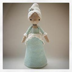 { Marie Antoinette, Queen at large... }  #Crochet #Doll #Amigurumi #AmourFou #MarieAntoinette