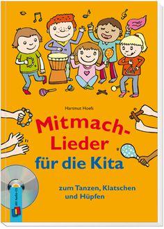 Mitmach-Lieder für die Kita zum Tanzen, Klatschen und Hüpfen ++ Die lustigen und…