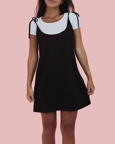 ONeill Juniors Dakota Jumper Indigo - Now Outfits Chic Outfits, Spring Outfits, Dress Outfits, Casual Dresses, 90s Fashion, Fashion Outfits, 90s Outfit, Friend Outfits, Classy Casual
