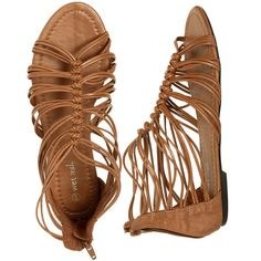 c8b3441146505a Isabella Strappy Gladiator ( 13) ❤ liked on Polyvore featuring shoes