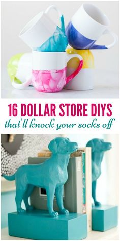 Need to decorate your place on the cheap? Believe it or not, you can find some real gems at your local Dollar Store. Okay, so they may not be that great right out the gate, but with a little TLC and creativity, you can create glam pieces for your home for just a few weeks. Skeptical? Check out some of these Dollar Store DIYs for inspiration!