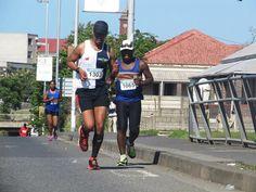 Mpho Matheolane & Motodzi Mamatsinya -Legends Marathon 2014 photo by selina vickerman-prince. Marathon, Photo Credit, Legends, Prince, Campaign, Content, Album, Running, Medium