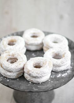 It's a cool 63 degrees and Powdered Doughnuts sound good right about now :)  Must try the Recipe