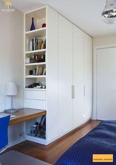 Bedroom Cupboard Designs, Wardrobe Design Bedroom, Room Design Bedroom, Home Room Design, Home Office Design, Home Office Decor, Home Bedroom, Home Interior Design, Bedroom Decor