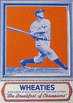 Wheaties Lou Gherig