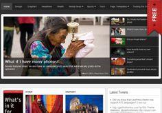Snapwire Free Newspaper Wordpress Theme