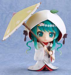 Vocaloid - Hatsune Miku - Nendoroid #303 - Ichigo Shiromuku ver., Snow 2013 (Good Smile Company)
