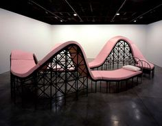 Art installations by Los Carpinteros