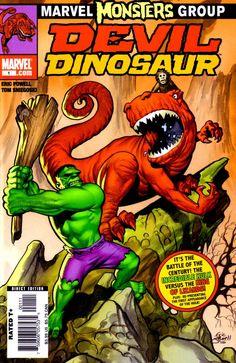 Marvel Monsters: Devil Dinosaur by Eric Powell