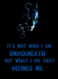 Quotes from The Dark Knight Movie