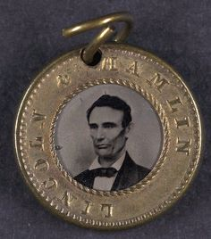 Lincoln campaign button