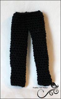 Mamma That Makes: Barbie Month .16 - Kens Dress Pants