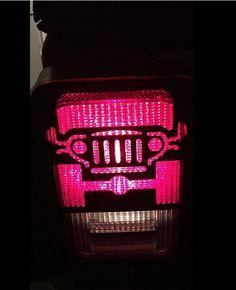 Amazon.com: E-cowlboy Tail Lamp Tail Light Cover Trim Guards Protector 2pcs for Jeep Wrangler Sport X Sahara Unlimited Rubicon 2007-2016: Automotive