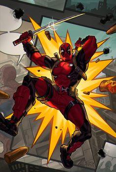 Comic Movies, Comic Book Characters, Marvel Characters, Comic Books Art, Comic Art, Marvel Fan Art, Marvel Vs, Marvel Heroes, Deadpool X Spiderman