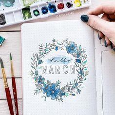 Carolin | Designer sur Instagram: Here's my March cover page, better late than never 🦋😬 __ Unbeauftragte Werbung wegen Verlinkungen 😌 __ Hier kommt ein kleiner Frühlingsgruß…