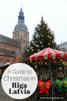 As the birthplace of the Christmas tree Riga, Latvia celebrates the season in grand style, with three Christmas markets, a bunny kingdom, and holiday decorations galore!
