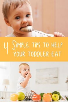 Have a toddler who is a picky eater? Check out these simple tip for getting them to eat. Fussy Eaters, Picky Eaters, Parenting Toddlers, Parenting Hacks, Toddler Meals, Kids Meals, Toddler Food, Easy Meals, Toddler Routine