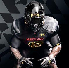 Maryland Terrapins football uniforms