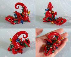 Red Tangled Dragon by *DragonsAndBeasties on deviantART