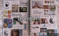 Cut out magazine clippings and post them to your creative, life, or inspiration notebook. Wreck This Journal, My Journal, Bullet Journal, Scrapbooks, Tumblr Scrapbook, Diy Scrapbook, Notebook Collage, Notebook Ideas, Dont Forget To Smile