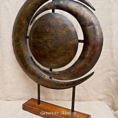 Escultura laton 3 Genoves Atelier