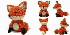 Crochet cosas: Patrón gratuito Viernes: Sentado Fox Amigurumi