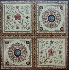 West Side Art Tiles -4488n310p5 - English Tile>