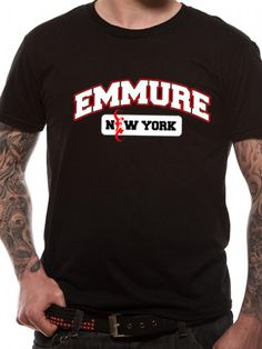 Officially Licensed Emmure design printed on a 100% cotton short sleeved T-shirt