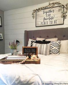 Incredible Modern Farmhouse Bedroom Decor Ideas 005