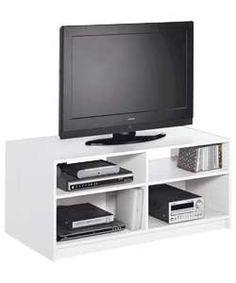 Maine Modular TV Unit - White.