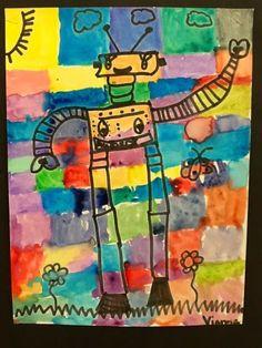 Kandinsky inspired Robots!
