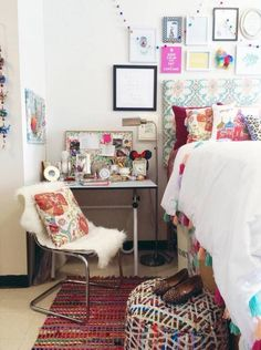Dorm Room Decor Ideas And Small Space Hacks | Domino
