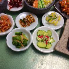My handmade miniature Korean cuisine- side dishes